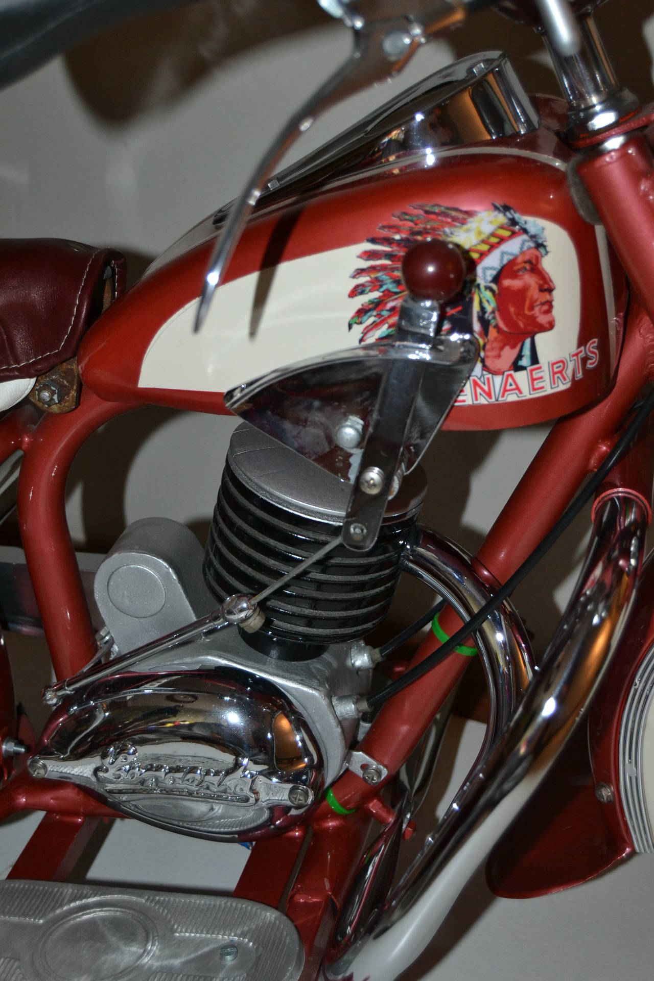 1950s Carousel Indian Motorbike by Lenaerts, Belgium  For Sale 1