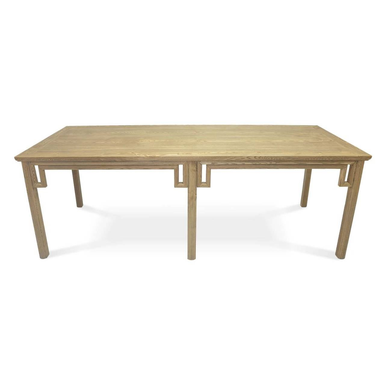 Ming Style Farm Table For Sale at 1stdibs