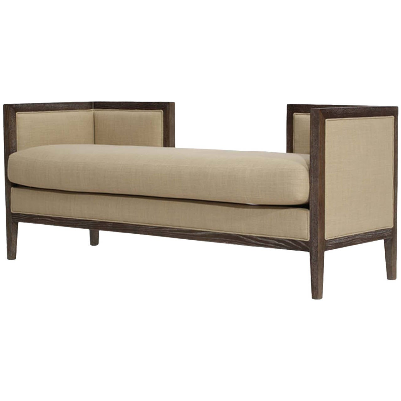 Open back settee at 1stdibs for Settee without back