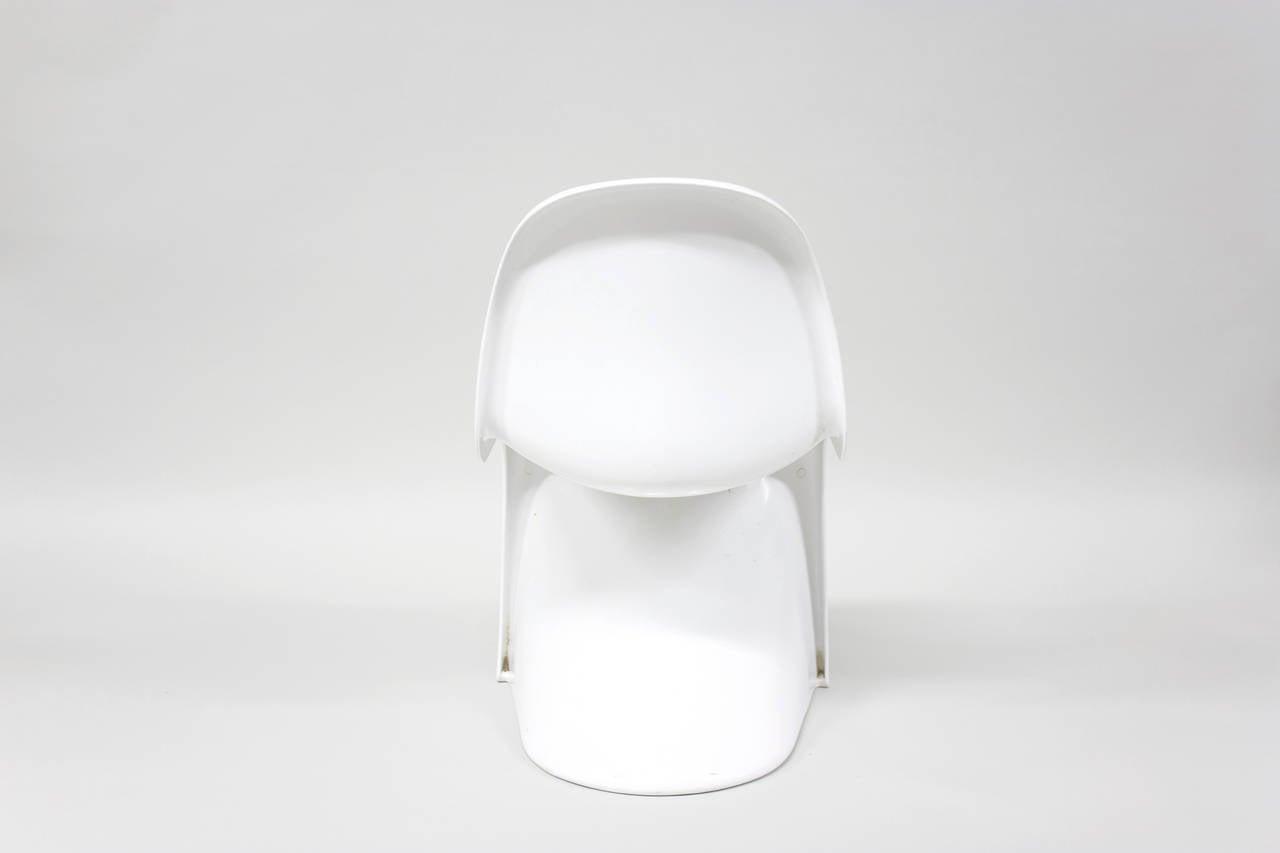 s chair by verner panton 1972 at 1stdibs. Black Bedroom Furniture Sets. Home Design Ideas