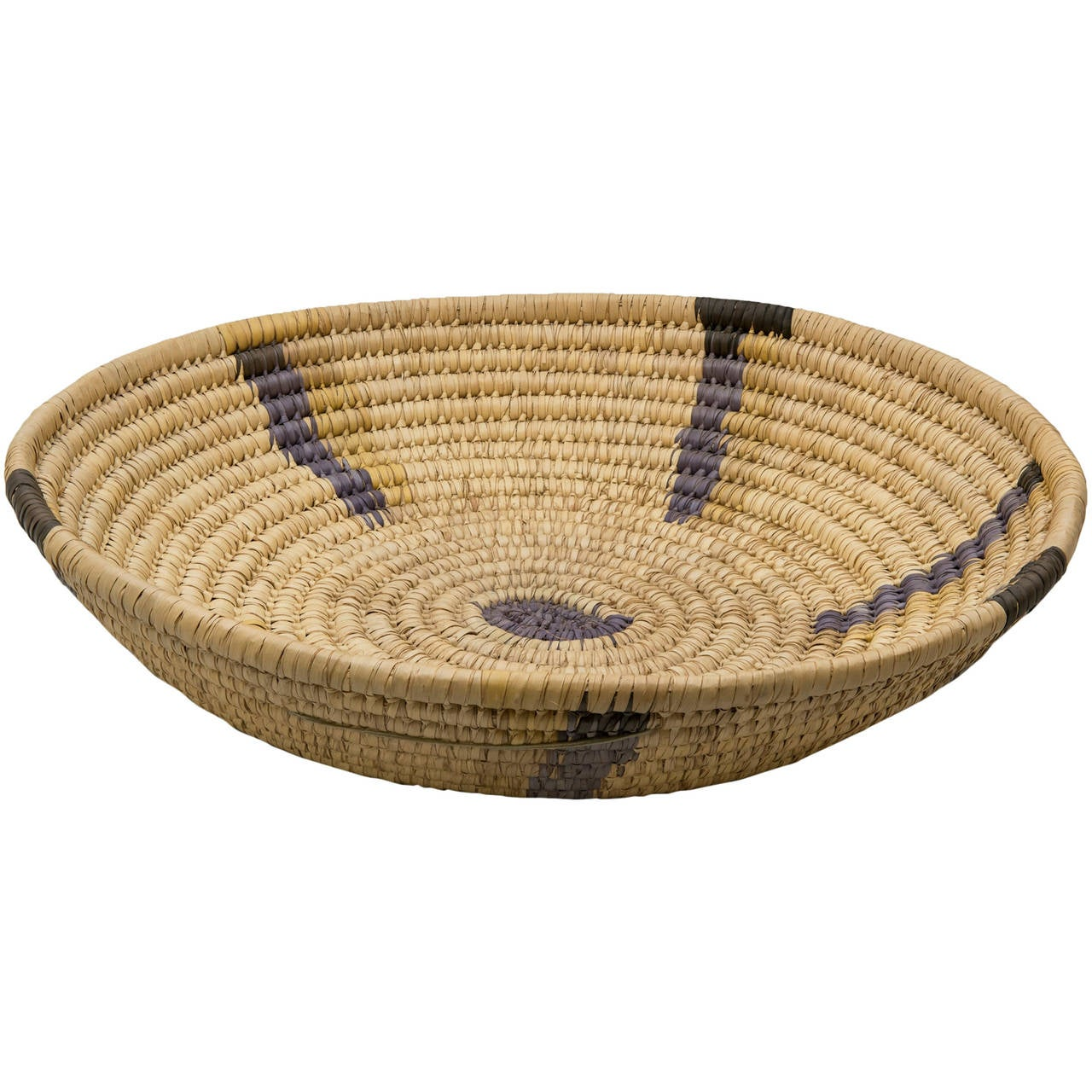 African Baskets: Large Vintage African Basket At 1stdibs