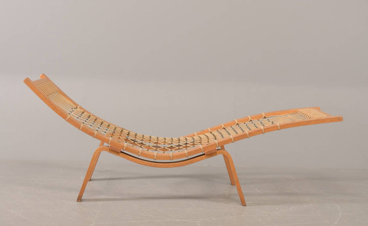 Hans J. Wegner Hammock Chaise Longue for GETAMA 2