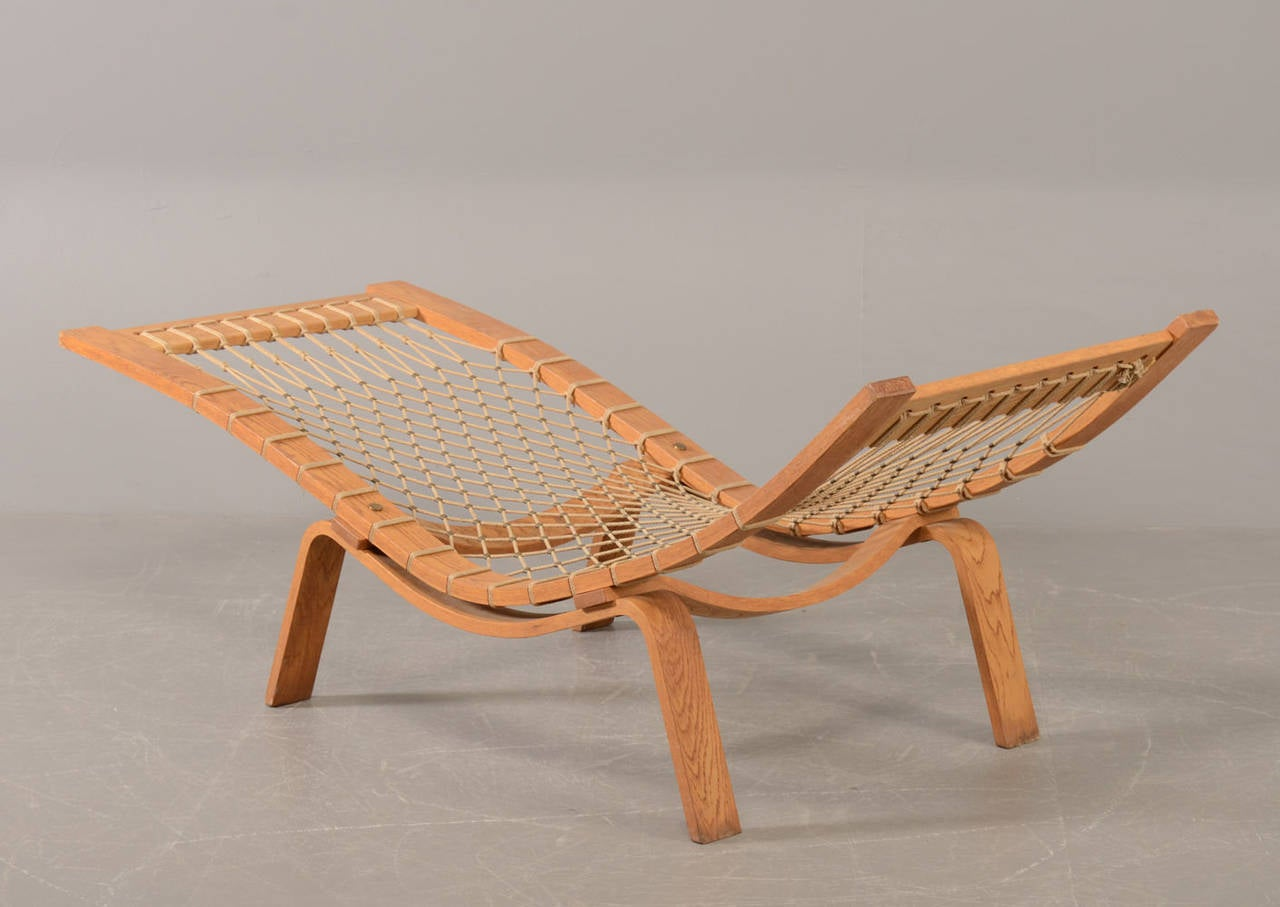 Hans J. Wegner Hammock Chaise Longue for GETAMA 3