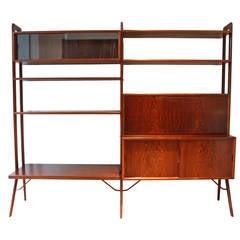 Kurt Ostervig Freestanding Rosewood Bookshelf