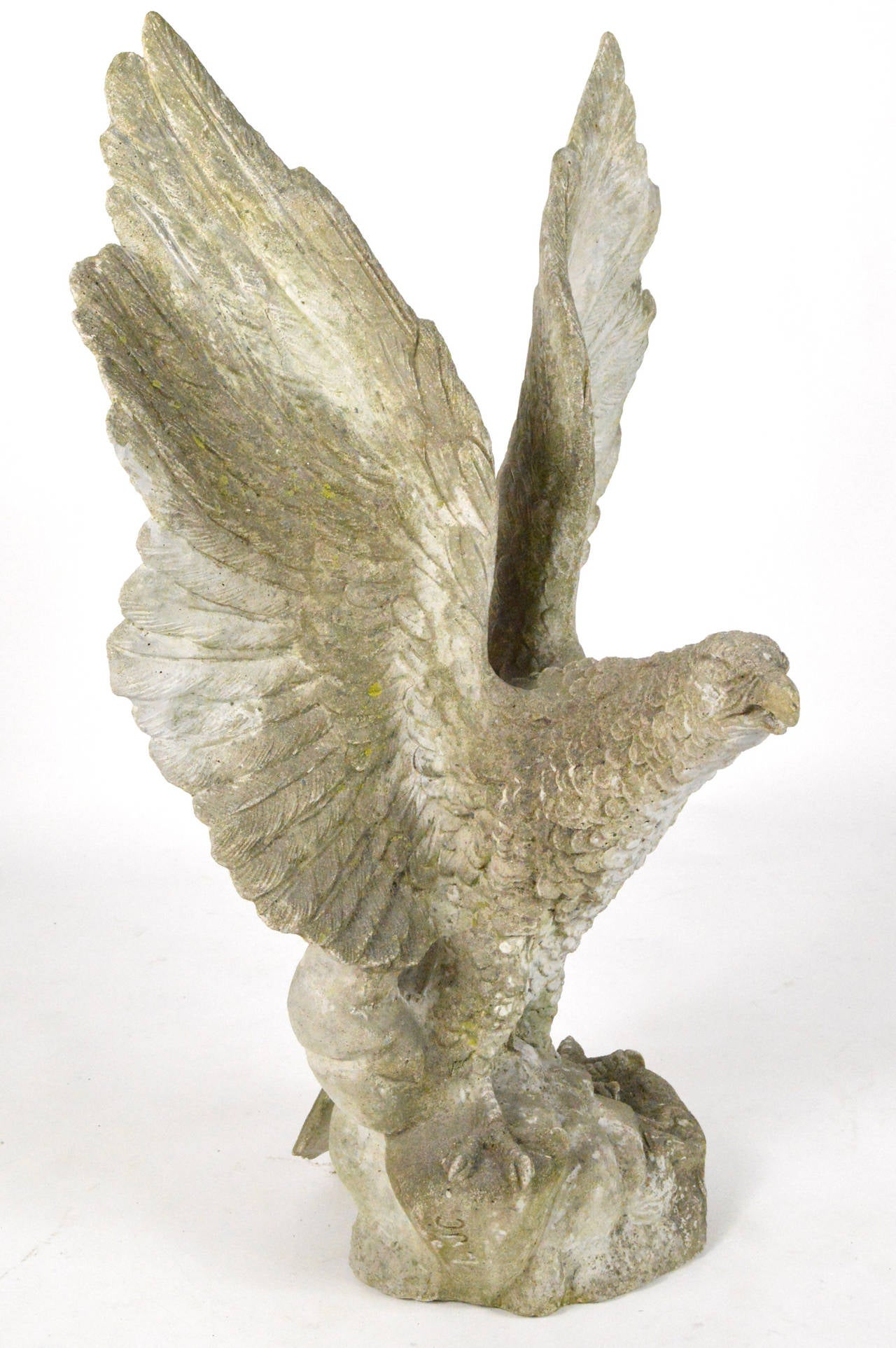 Large-Scale Cast Stone Eagle Garden Statue 3