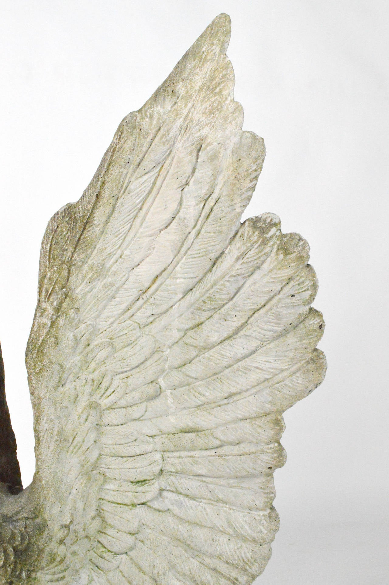 Large-Scale Cast Stone Eagle Garden Statue 7