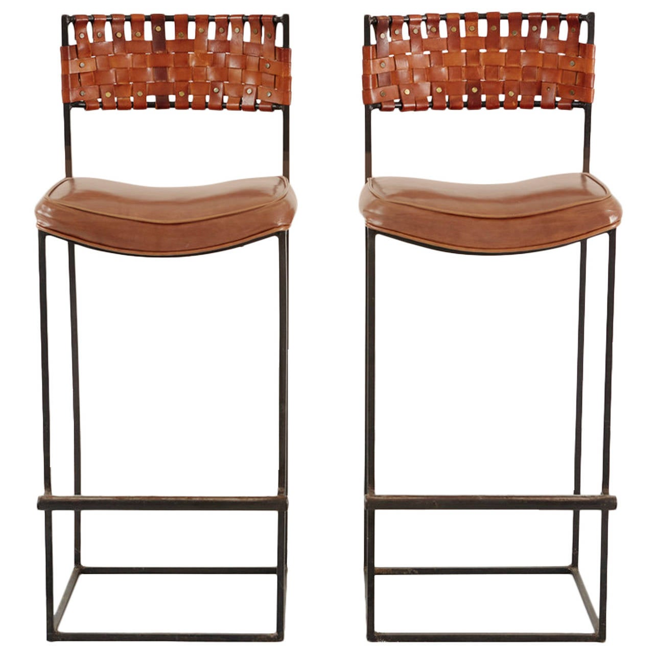 Arthur Umanoff Bar Stools At 1stdibs