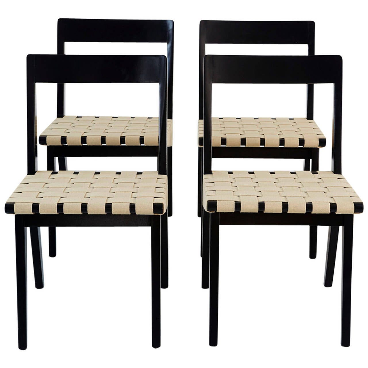 Jens Risom for Knoll Dining Chairs at 1stdibs