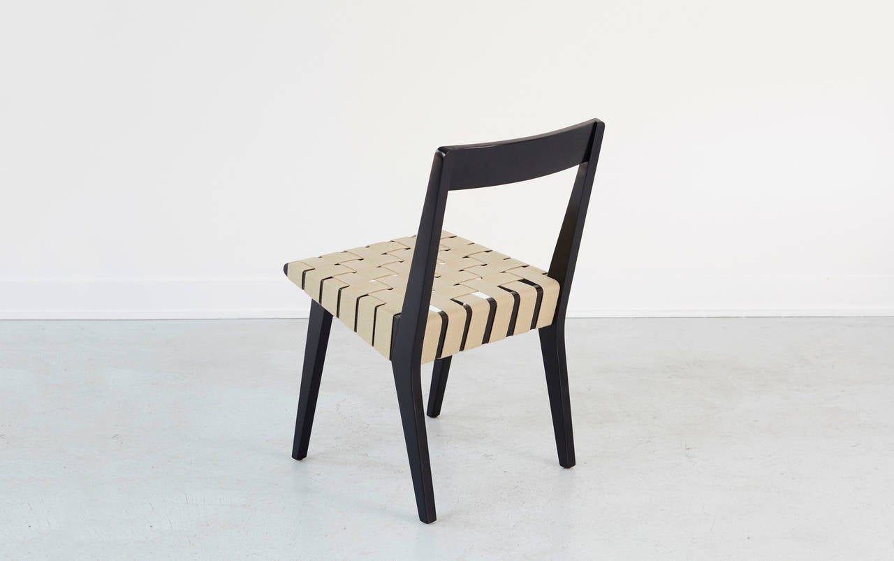 Jens risom for knoll dining chairs at stdibs