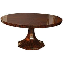 French Round Dining Room or Conference Table