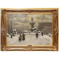 "Otto Dinger, ""Winter in Berlin"""