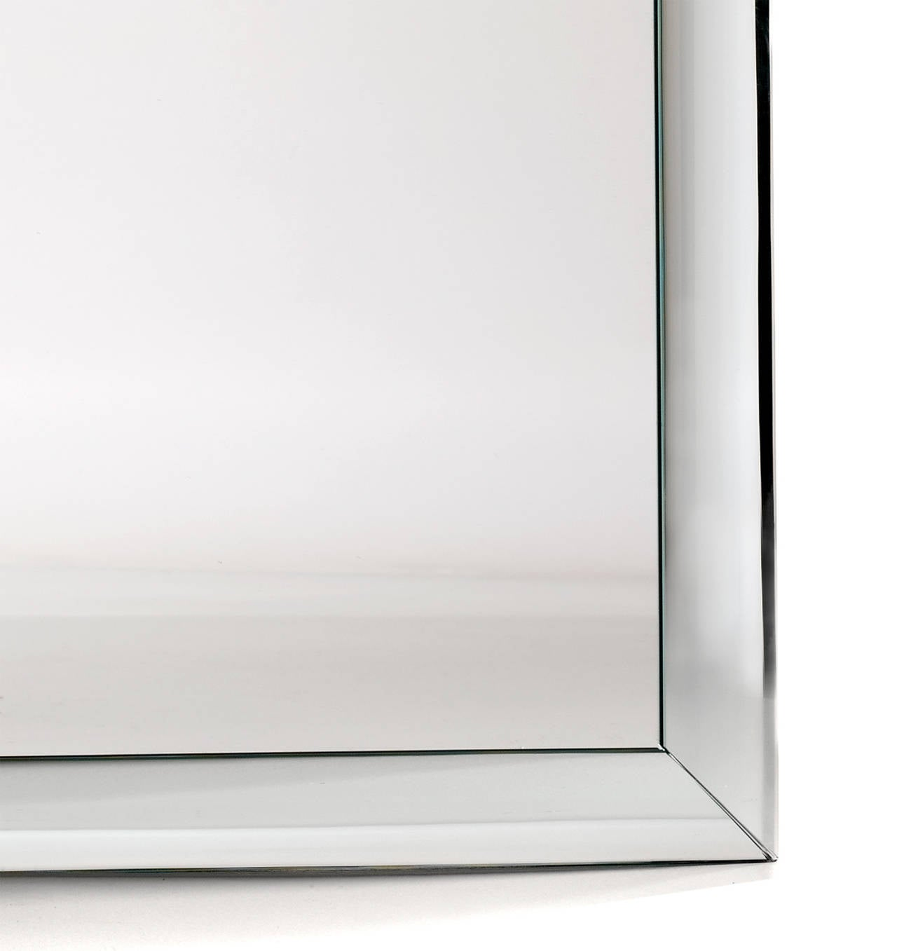 Queen Anne-Shaped-Top Bullnose Mirror 2