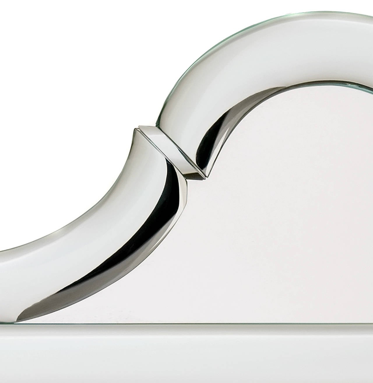 Queen Anne-Shaped-Top Bullnose Mirror 4