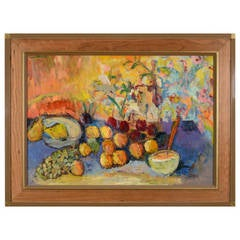 """""""Untitled"""" Still Life with Fruit by Humbert Howard"""