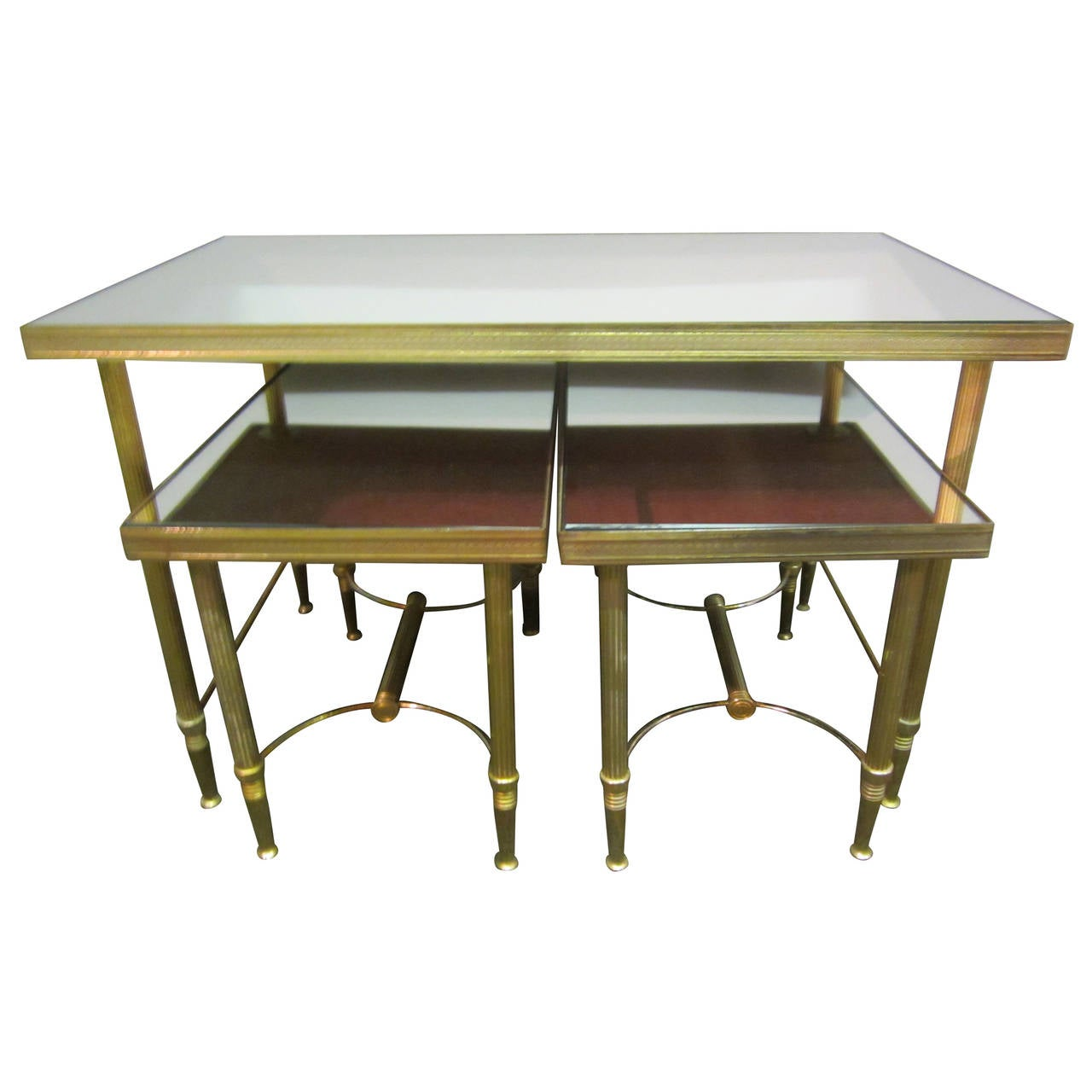 Small French Nest Of Tables At 1stdibs