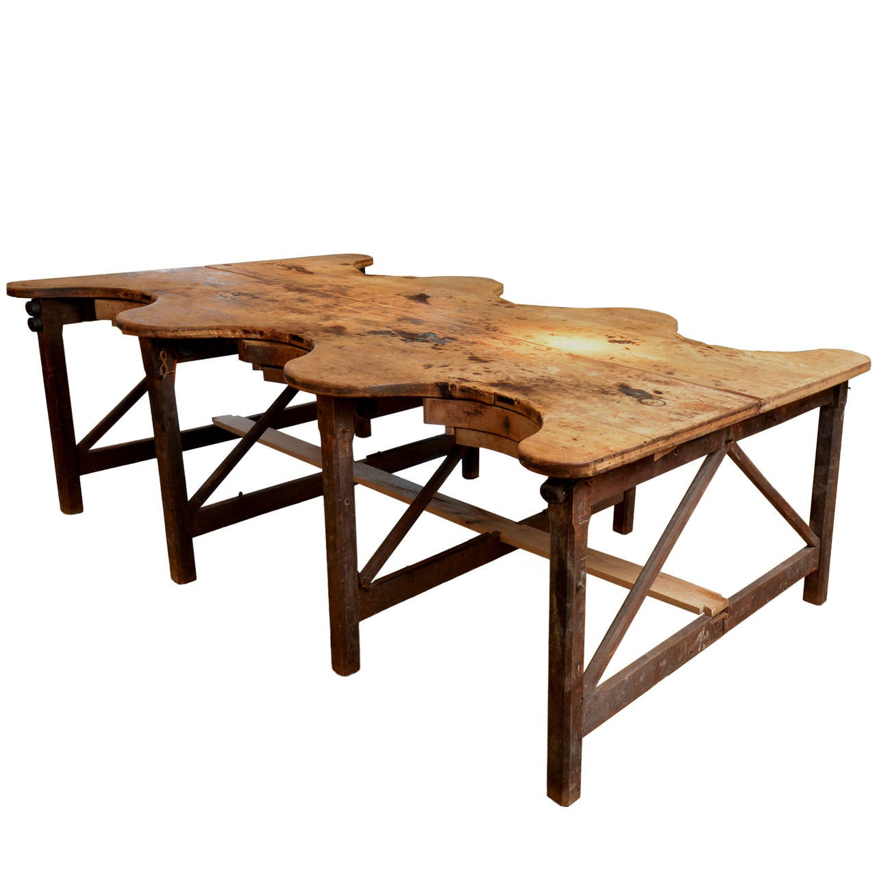 1920s vintage goldsmith work table at 1stdibs for Furniture work table