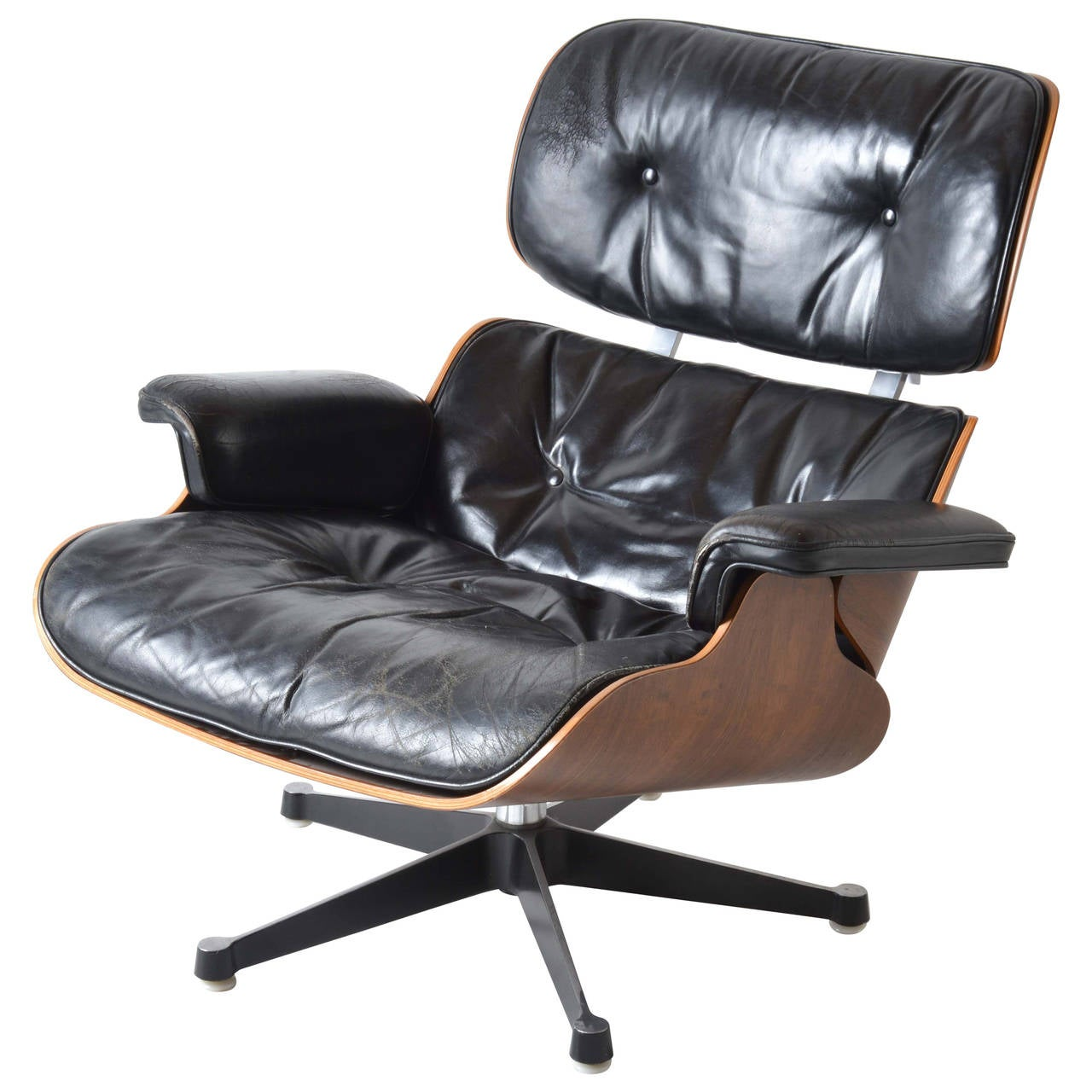 iconic eames lounge chair for herman miller at 1stdibs. Black Bedroom Furniture Sets. Home Design Ideas