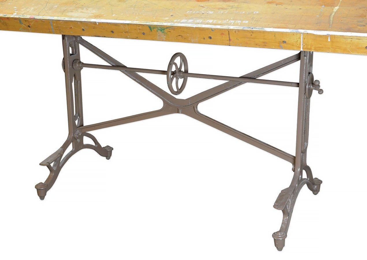 Photo Adjustable Drafting Table Hardware Images