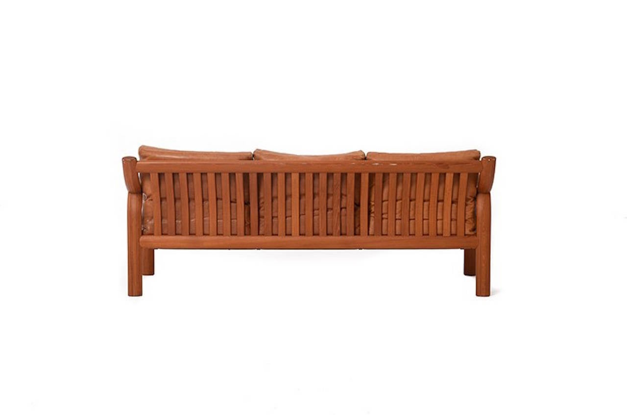 Swell Scandinavian Modern Bentwood Sofa In Teak At 1Stdibs Theyellowbook Wood Chair Design Ideas Theyellowbookinfo