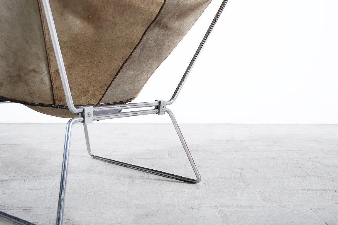 Rare Pierre Paulin Easy Chair Model AP-14 for AP Originals, 1954 9