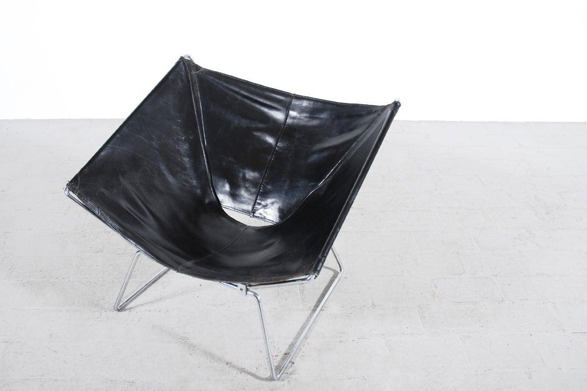 Rare Pierre Paulin Easy Chair Model AP-14 for AP Originals, 1954 6