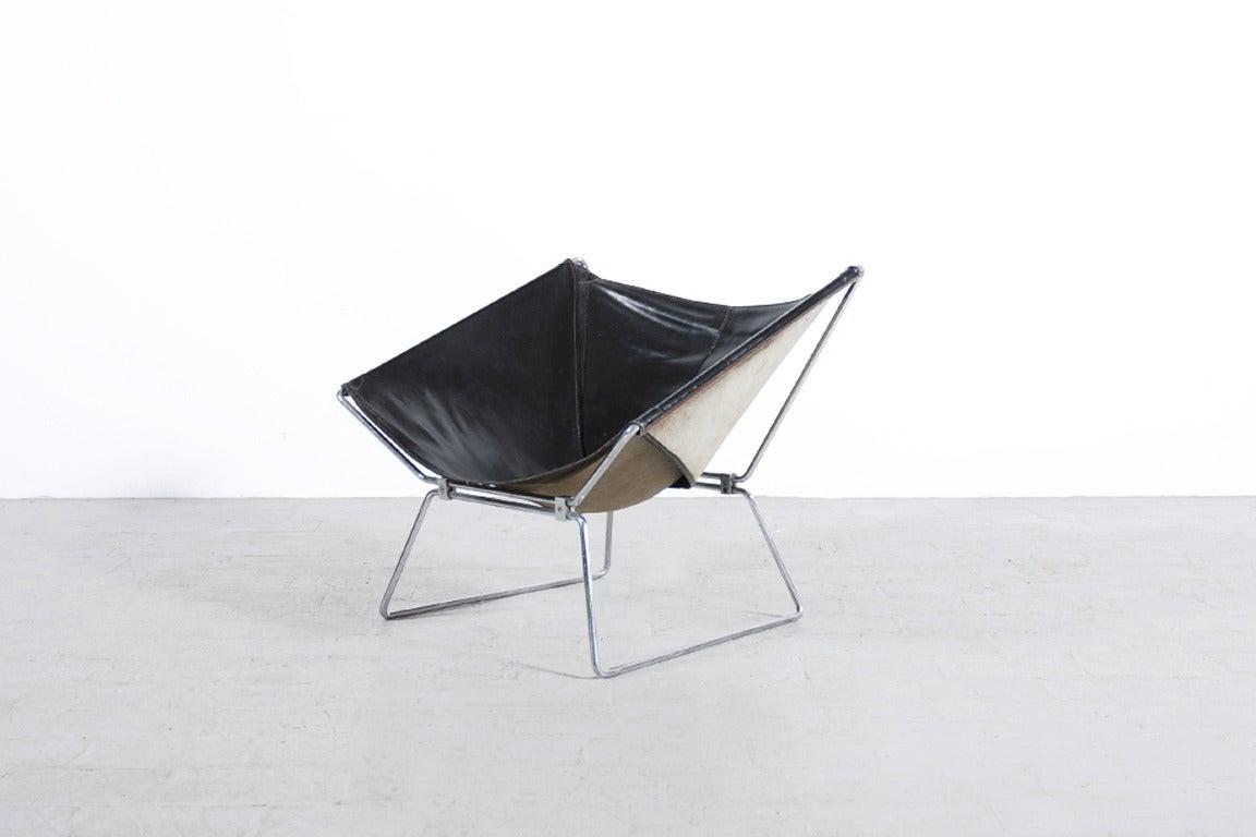 Rare Pierre Paulin Easy Chair Model AP-14 for AP Originals, 1954 3