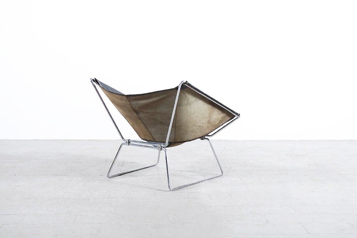 Rare Pierre Paulin Easy Chair Model AP-14 for AP Originals, 1954 5