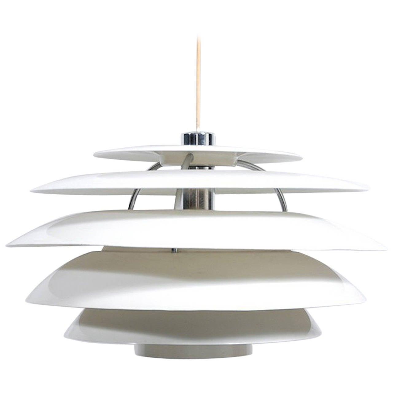 Stilnovo Hanging Lamp, 1960s For Sale