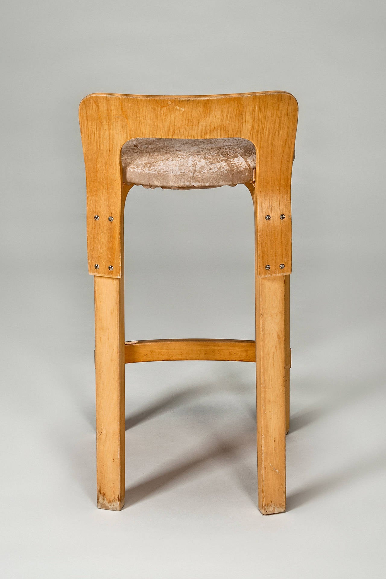 Originally Designed In 1935, This Set Of Four Original Production Version High  Chair K65 Have