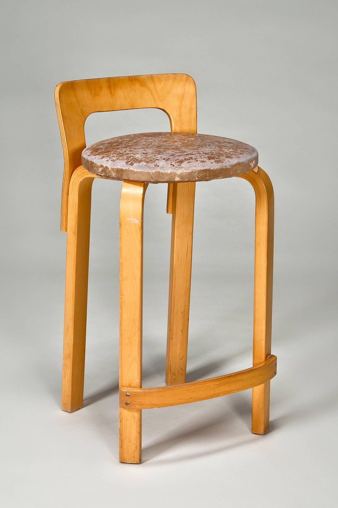 Scandinavian Modern High Chair K65 (set Of 4) By Alvar Aalto From Artek 2nd