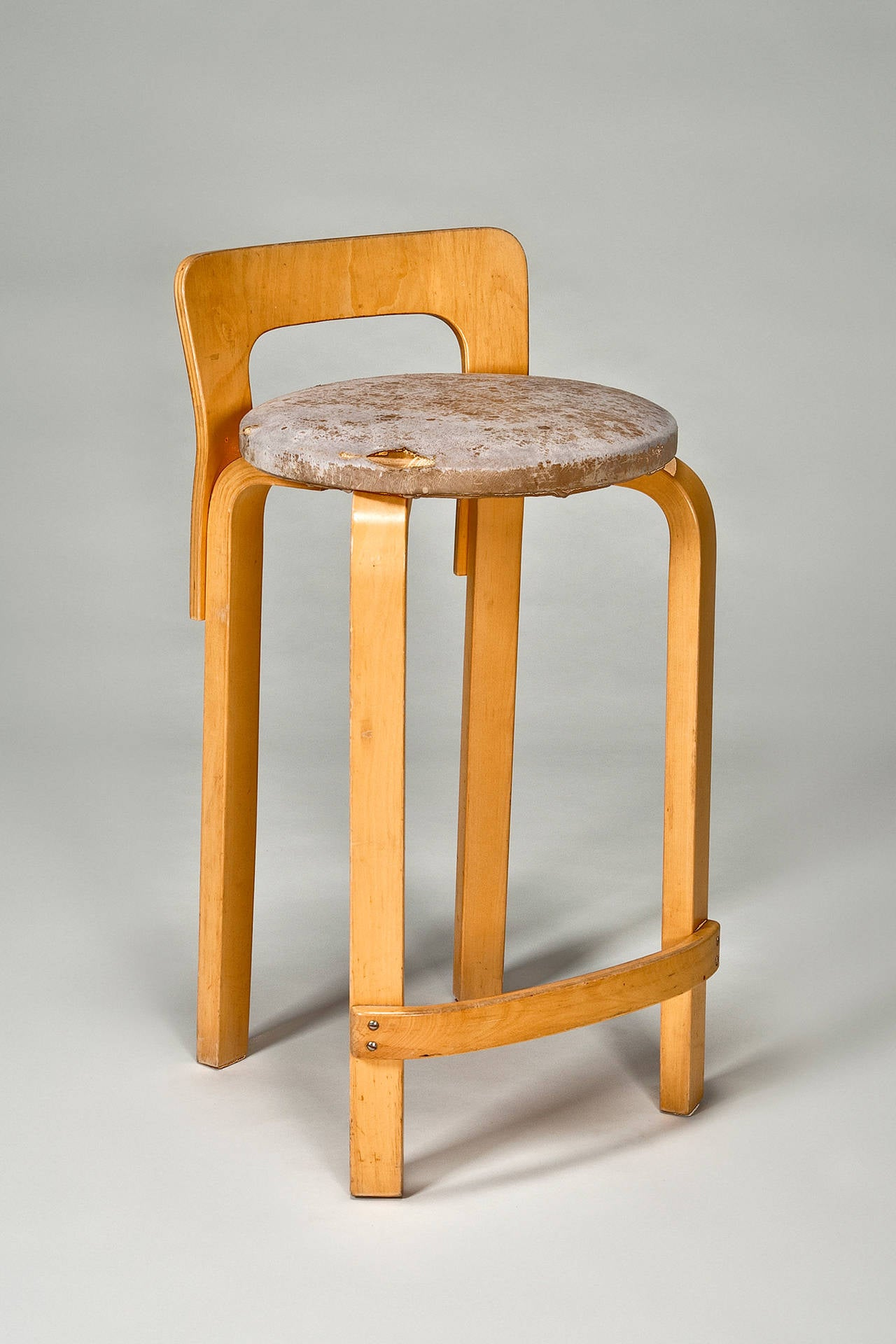High Chair K65 (set Of 4) By Alvar Aalto From Artek 2nd Cycle For Sale At  1stdibs