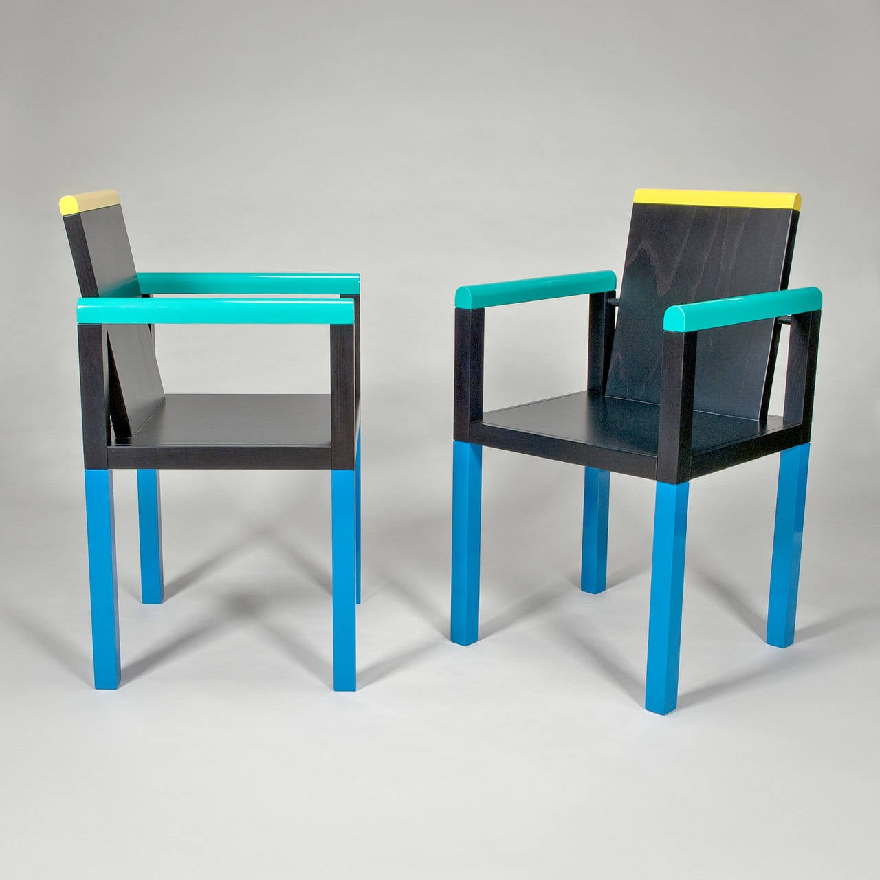 Palace Chair By George Sowden For Memphis Milano At 1stdibs