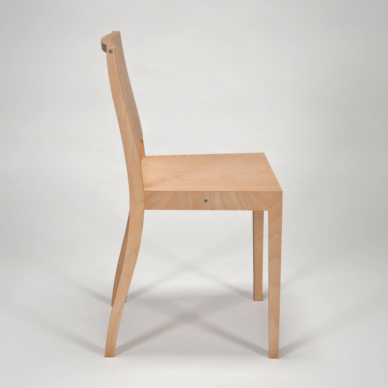 ply chair with closed back by jasper morrison for vitra. Black Bedroom Furniture Sets. Home Design Ideas