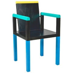 Palace Chair by George Sowden for Memphis Milano