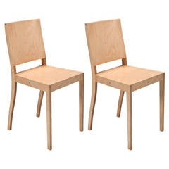 Ply-Chair with Closed Back by Jasper Morrison for Vitra