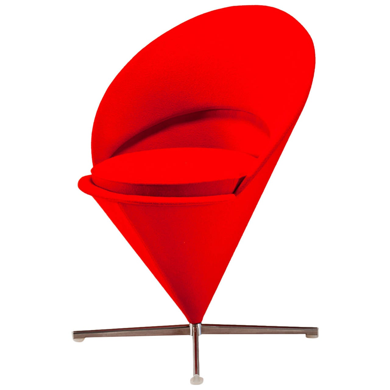 cone chair by verner panton vitra design museum for sale. Black Bedroom Furniture Sets. Home Design Ideas