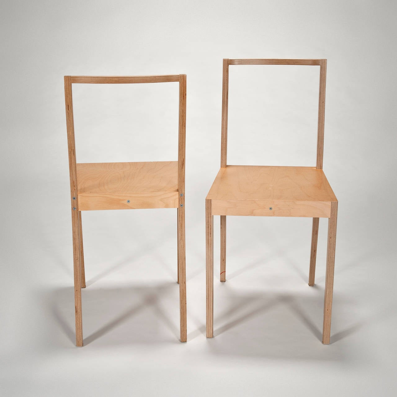 Ply Chair Open Back Pair Of Chairs By Jasper Morrison For