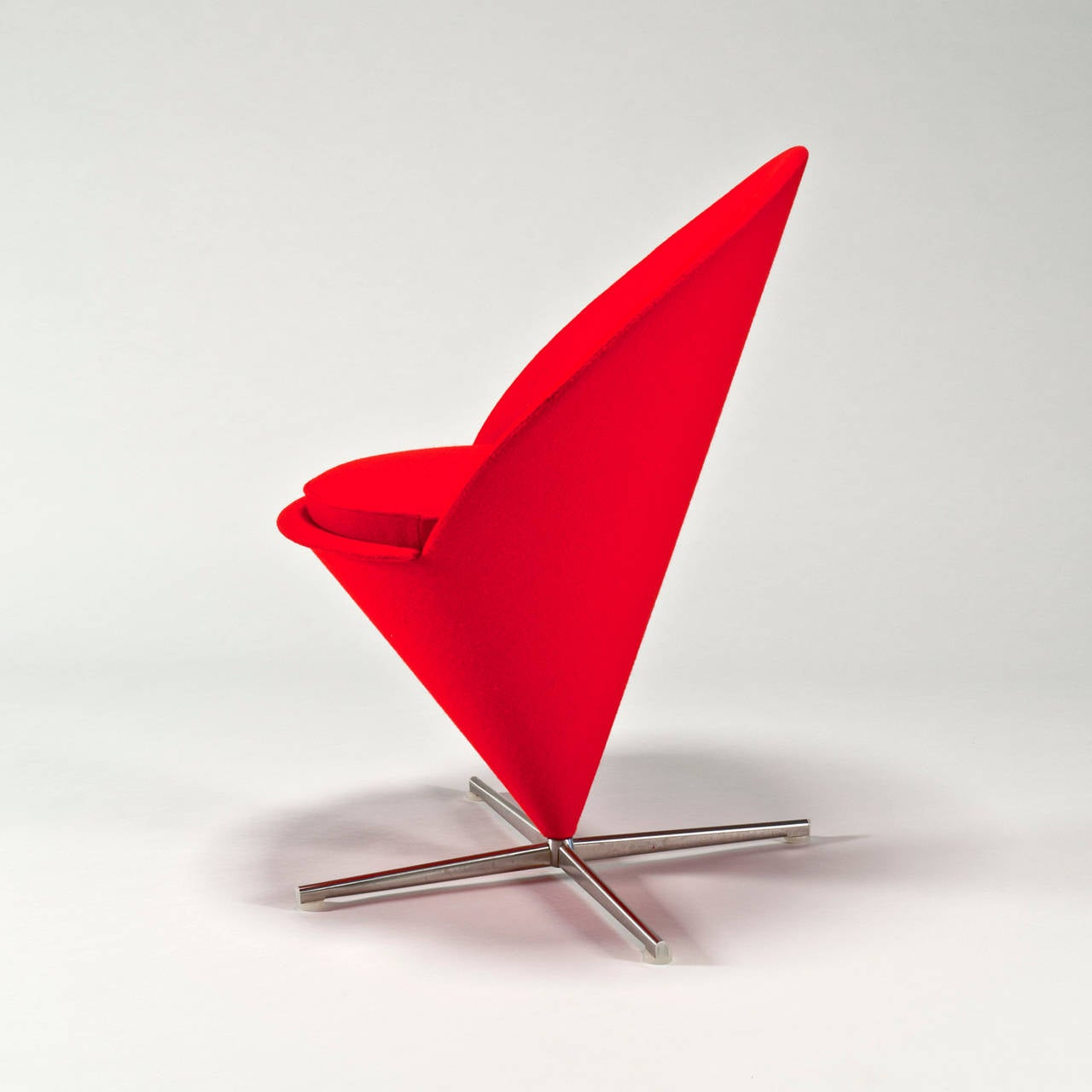 Cone Chair by Verner Panton Vitra Design Museum For Sale at 1stdibs
