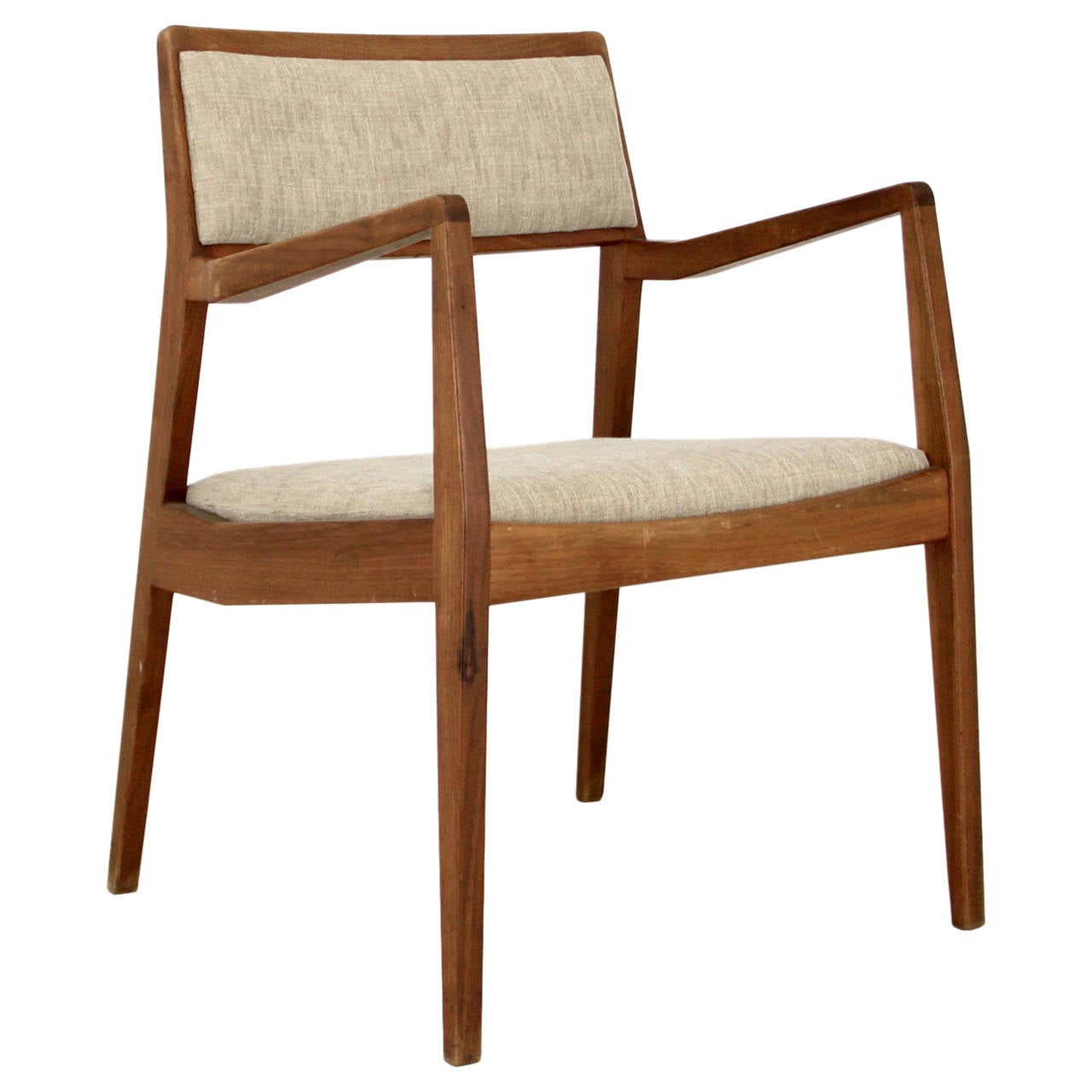 Jens Risom Side Chair Jens Risom Playboy Armchair Chair At 1stdibs