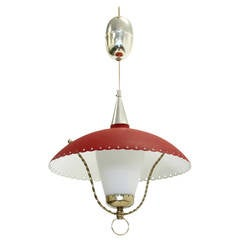 Wonderful Mid-Century Ceiling Light, Norway, 1950s