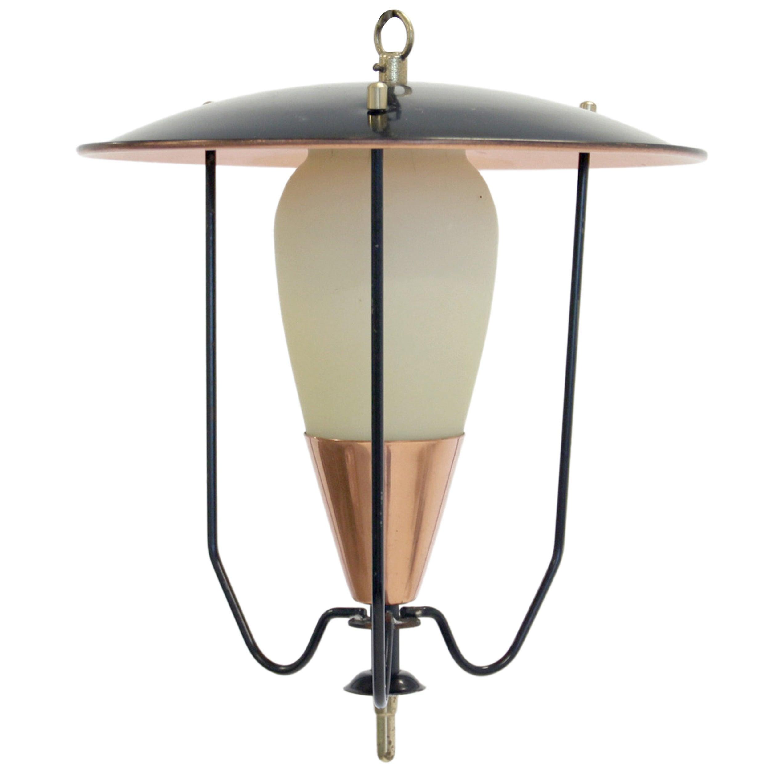 Scandinavian Midcentury Ceiling Lamp, 1950s