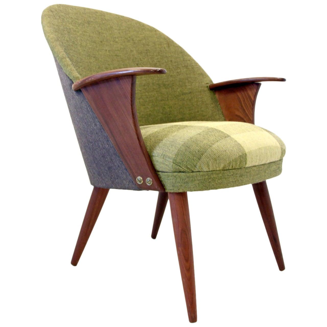 Scandinavian Lounge: Scandinavian Lounge Chair At 1stdibs