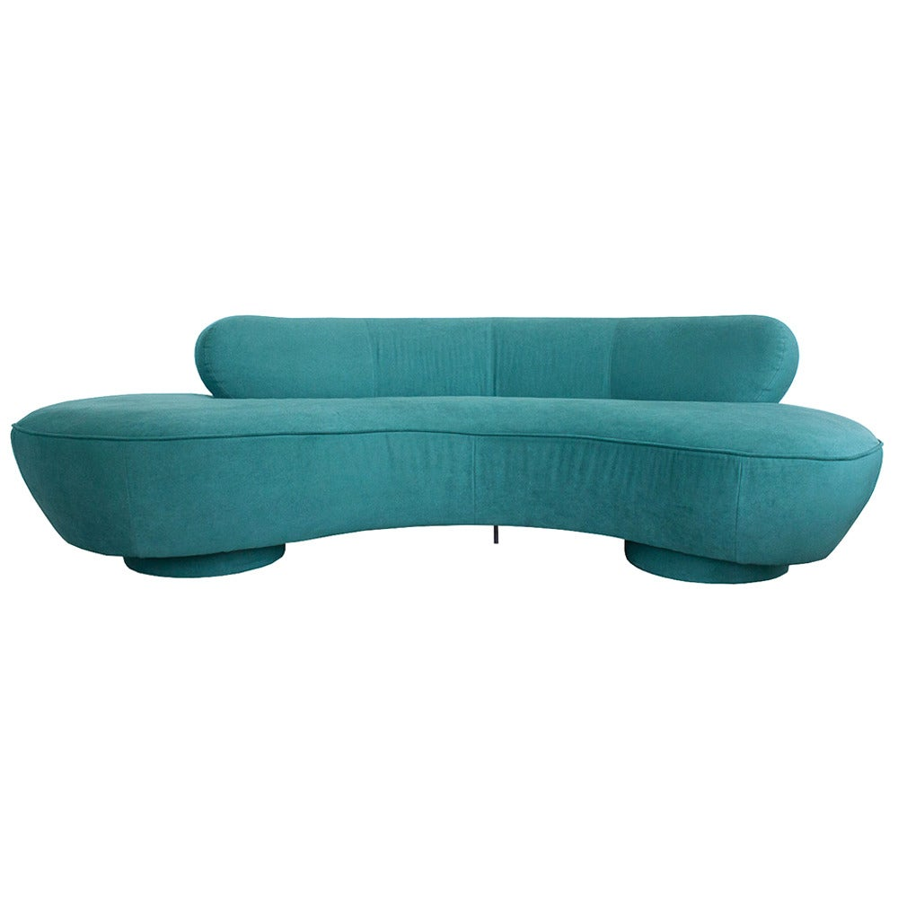Vladimir Kagan Serpentine Sofa For Directional At 1stdibs