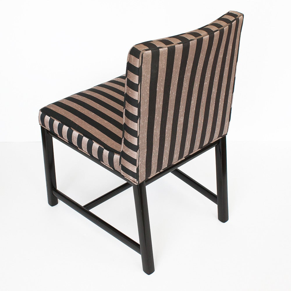 Set Of Six Michael Taylor Dining Chairs For Baker At 1stdibs