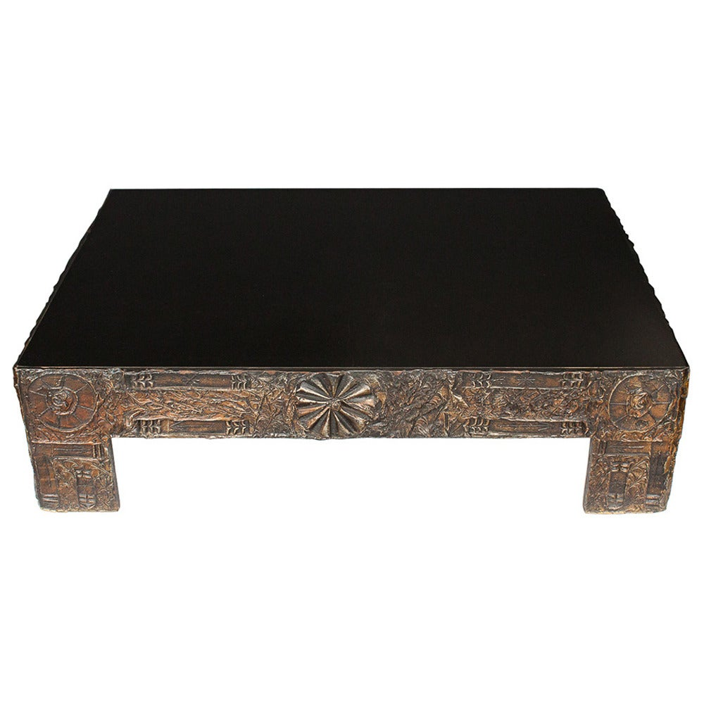 Lane Pearsall Coffee Table: Adrian Pearsall Brutalist Coffee Table At 1stdibs