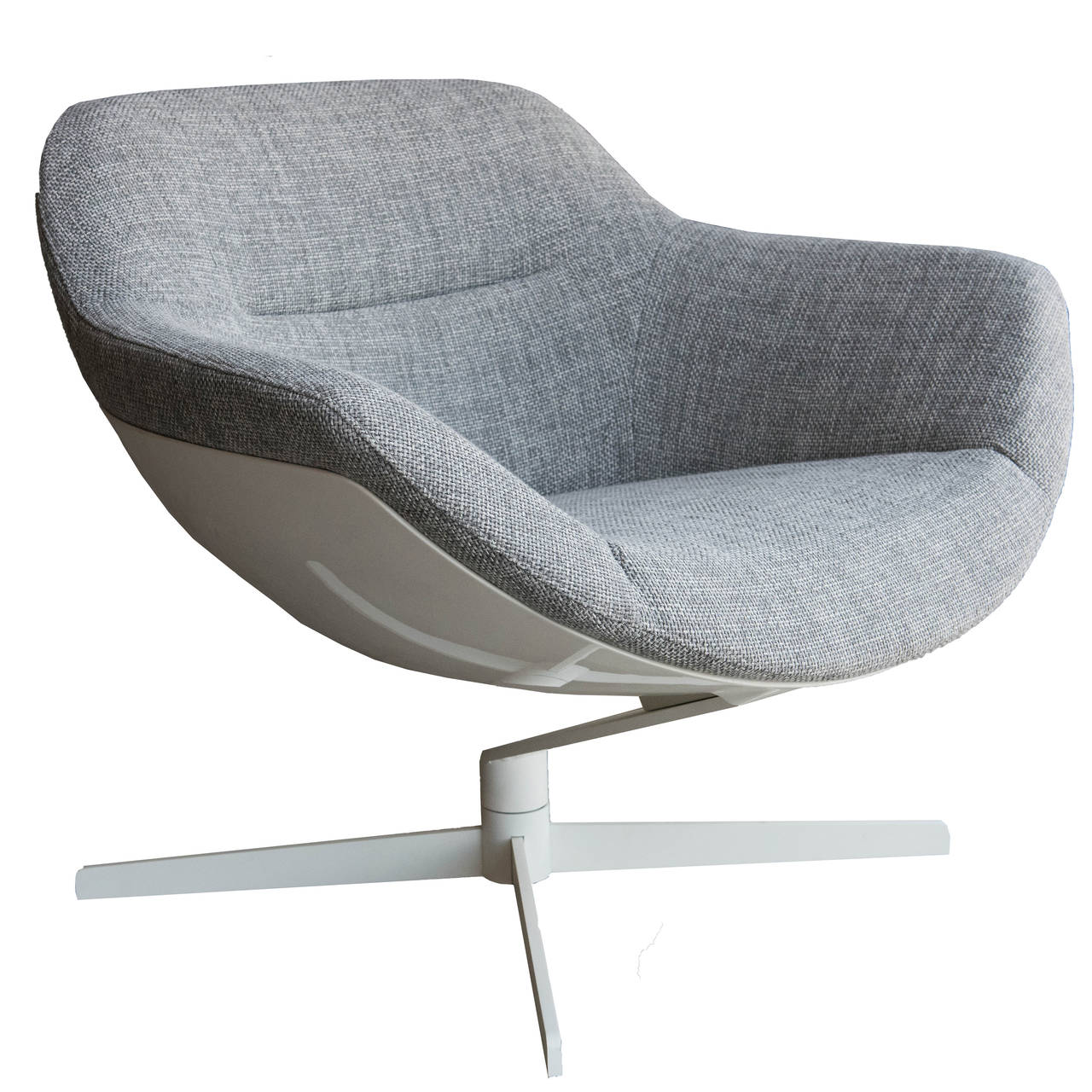 Cassina Auckland Swivel Armchair At 1stdibs