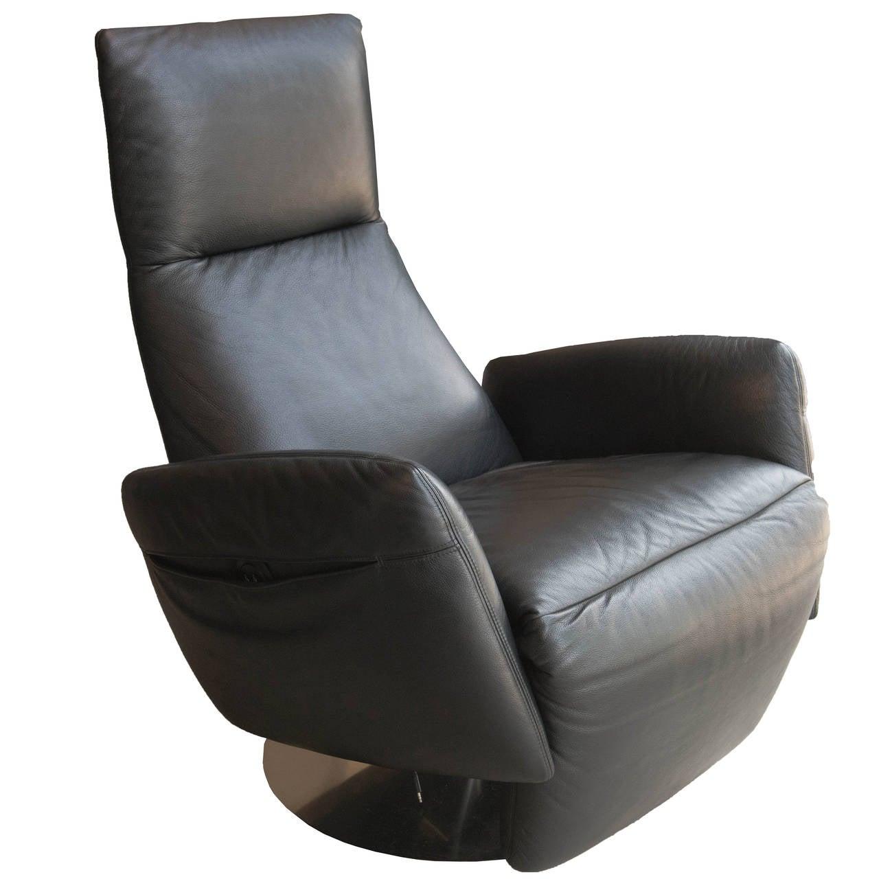 Leather sofa by poltrona frau at 1stdibs - Leather Sofa By Poltrona Frau Poltrona Frau Pillow Reclining Armchair 1