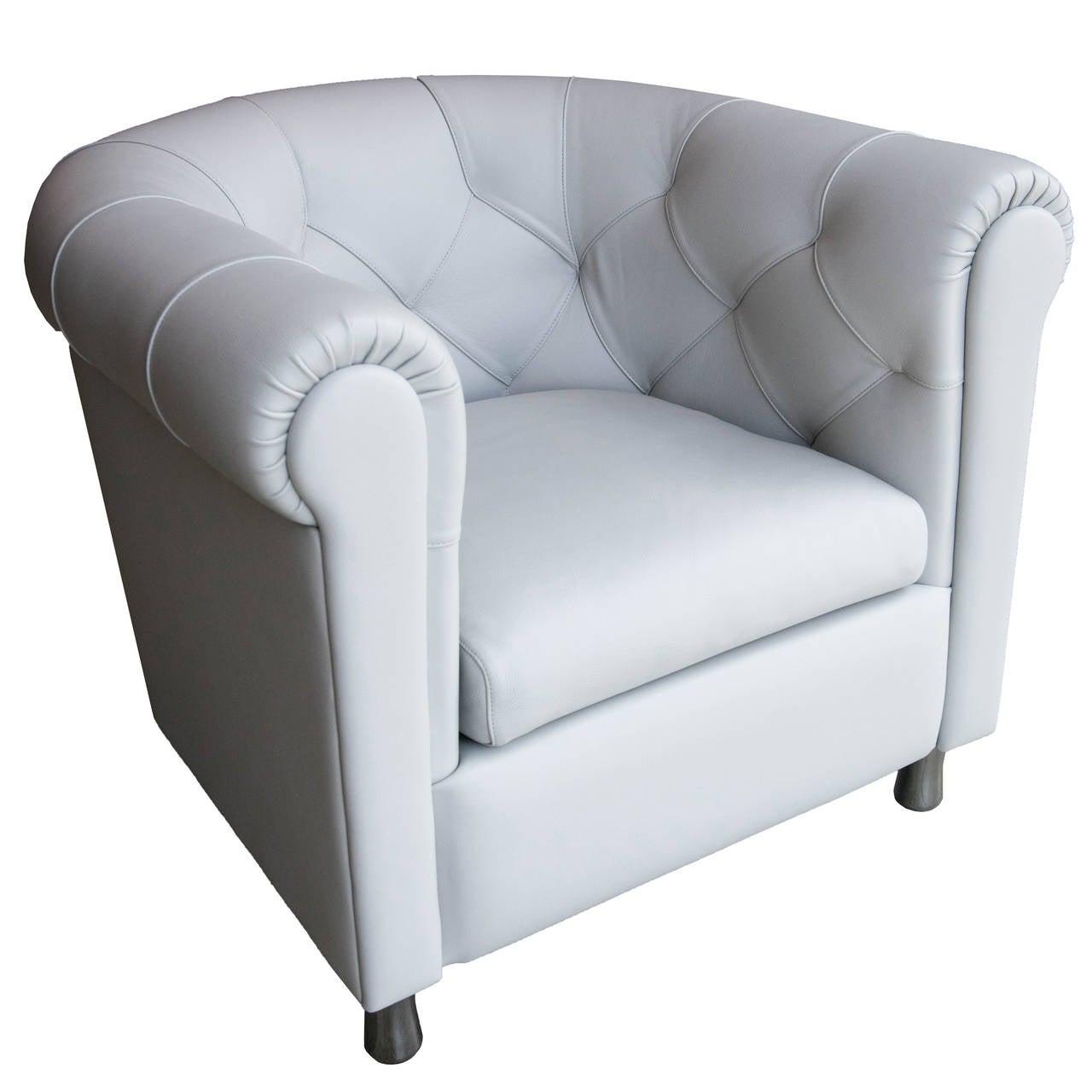 Leather sofa by poltrona frau at 1stdibs - Poltrona Frau Arcadia Armchair 1