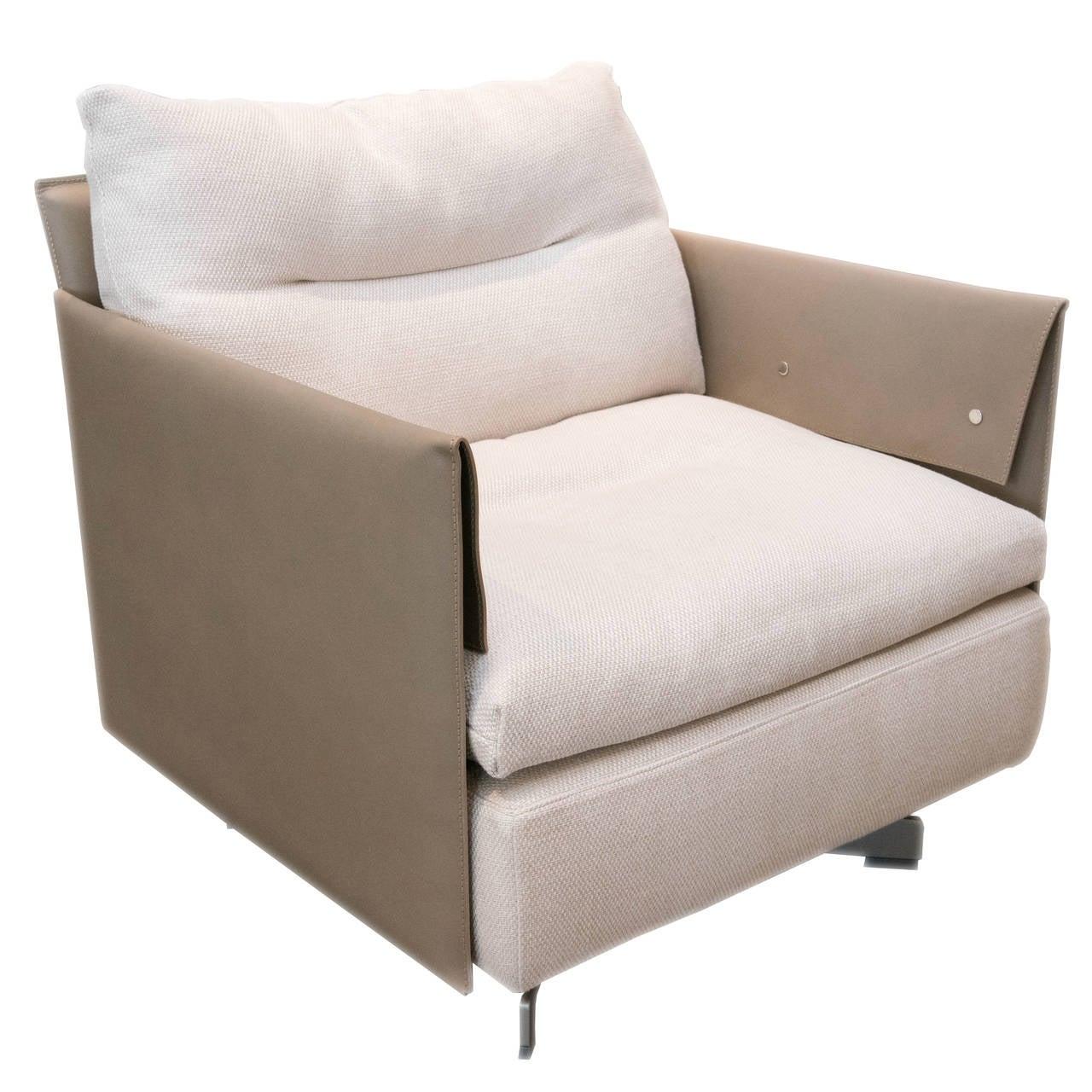 Poltrona frau grantorino swivel armchair for sale at 1stdibs for Poltrona torino