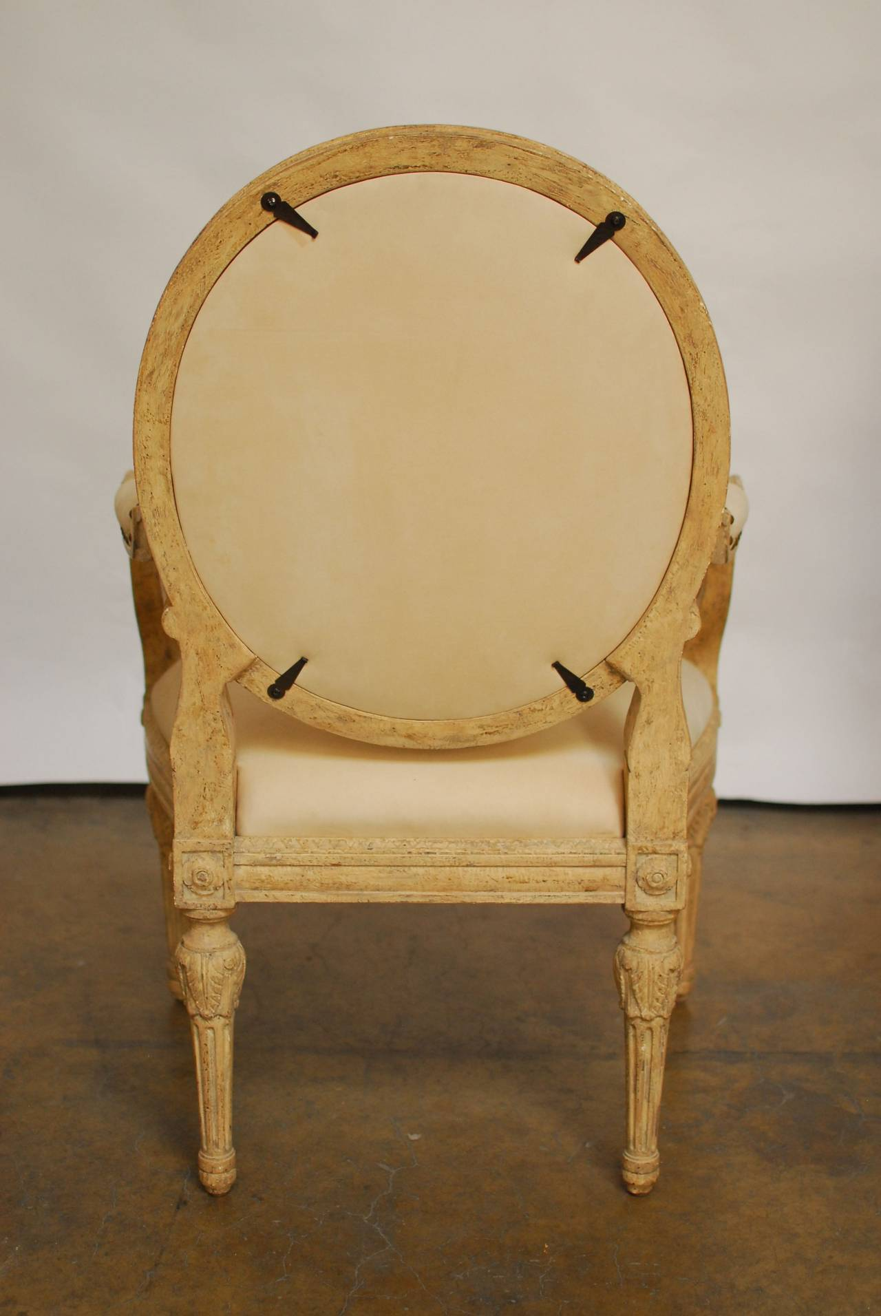 Moderne Gustavian Armchairs By Dennis And Leen At 1stdibs